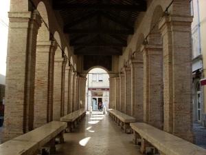 Vicolo Pescheria - Ein Beratumgsraum im Freien
