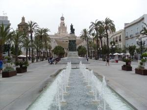 Plaza San Juan de Dios y Ayuntamiento