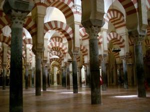 Säulen im Innern der Mezquita