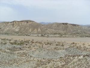 Desierto de Tabernas - Landschaft als Filmkulisse
