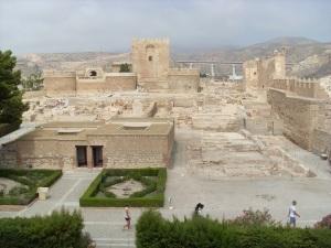 Im Innern der Alcazaba de Almer¡a