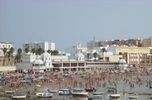 Playa de la Caleta y Antiguo Balneario de la Palma