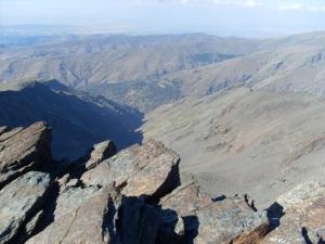 Blick vom Pico Veleta