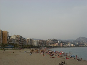 Strandpromenade von Malaga