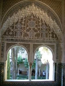 Wandverzierungen im Innern des Nasridenpalastes