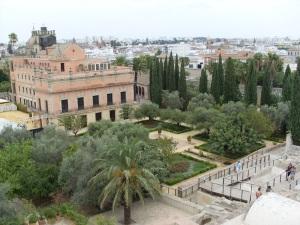 Palacio de Villavicencio im Garten der Alcazar