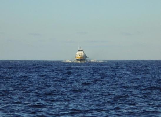 03 Highspeed - Tragflügelboot der Usticalines